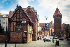 Historical Old Town of Gdansk Royalty Free Stock Photos