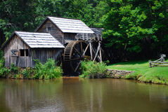 Historical old water mill Stock Photo