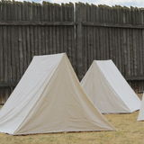 Historical Old West tents Royalty Free Stock Image