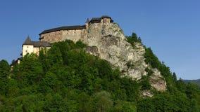 Orava Castle, Slovakia. The historical Orava castle in Lower Orava region - Slovakia royalty free stock photos