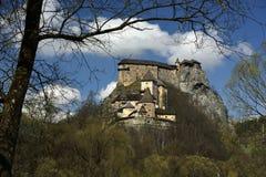 Orava Castle, Slovakia royalty free stock photography