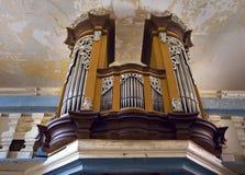 Historical organ Royalty Free Stock Image