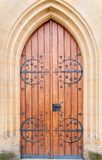 Historical ornate  door,  Czech Republic Royalty Free Stock Images