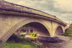 Historical Otepopo Bridge Stock Photo