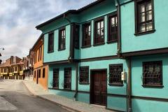 Historical Ottoman Houses. In Odunpazari, Eskisehir Royalty Free Stock Photos