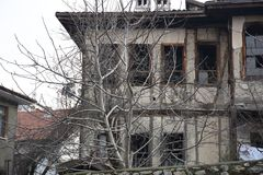 Historical ottoman houses, Safranbolu, Turkey Royalty Free Stock Photography
