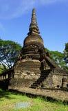 Historical Pagoda Wat Nang phaya temple vertical Stock Photo