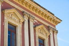 Historical palace. Bari. Puglia. Italy. Royalty Free Stock Photography