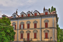 Historical palace. Bettola. Emilia-Romagna. Italy. Royalty Free Stock Photos