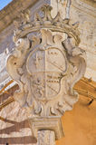 Historical palace. Bisceglie. Puglia. Italy. Royalty Free Stock Image