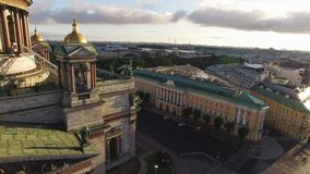Historical palace building stock footage