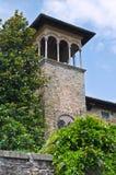 Historical palace. Castell'arquato. Emilia-Romagna. Italy. Stock Image