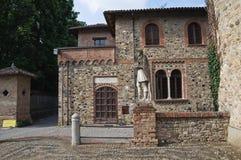 Historical palace of Emilia-Romagna. Italy. Stock Images