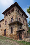 Historical palace of Emilia-Romagna. Italy. Royalty Free Stock Image