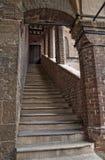 Historical palace of Emilia-Romagna. Italy. Stock Photography