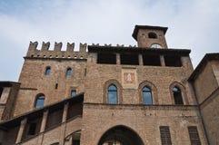 Historical palace of Emilia-Romagna. Italy. Royalty Free Stock Images