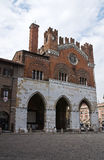 Historical palace of Emilia-Romagna. Italy. Royalty Free Stock Photo
