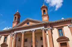 Historical palace of Emilia-Romagna. Italy. Stock Photos