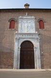Historical palace of Ferrara. Royalty Free Stock Image