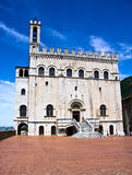 Historical palace in Gubbio Royalty Free Stock Image