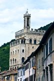 Historical palace in Gubbio Royalty Free Stock Images