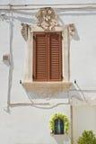 Historical palace. Martina Franca. Puglia. Italy. Royalty Free Stock Image