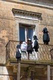 Historical palace. Montescaglioso. Basilicata. Italy. Stock Image