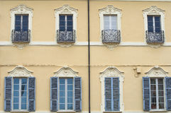 Historical palace. Piacenza. Emilia-Romagna. Italy. Royalty Free Stock Photo
