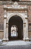 Historical palace of Piacenza. Italy. Stock Photography