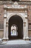 Historical palace of Piacenza. Italy. Stock Photography
