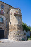 Historical palace. Rocca Imperiale. Calabria. Italy. Stock Photo