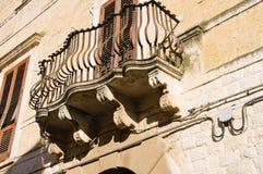 Historical palace. Rutigliano. Puglia. Italy. Royalty Free Stock Photo