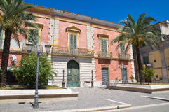 Historical palace. San Severo. Puglia. Italy. Stock Photo