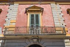 Historical palace. San Severo. Puglia. Italy. Royalty Free Stock Image