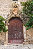 Historical palace. San Vito dei Normanni. Puglia. Italy. Royalty Free Stock Photo