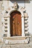 Historical palace. Venosa. Basilicata. Italy. Royalty Free Stock Images