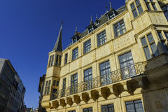 The historical Palais Grand Ducal Stock Image