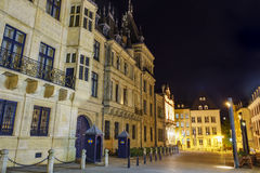 The historical Palais Grand Ducal Royalty Free Stock Photography