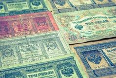 Historical paper money Stock Photos