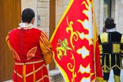 Historical parade. Stock Photos