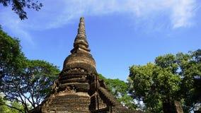 Historical park Pagoda Wat Nang phaya temple Stock Image