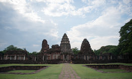 Historical Park Phimai Royalty Free Stock Images