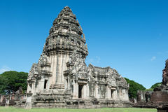 Historical Park Phimai. Protects one of the most important Khmer temples of Thailand. It is located in the town of Phimai, Nakhon Ratchasima province. The temple royalty free stock photos