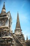 Historical Park, Phra Nakhon Si Ayutthaya, Thailand.  Royalty Free Stock Images