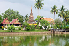 Historical Park of Sukhothai Royalty Free Stock Photo