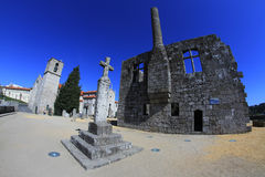 Historical part of Barcelos city Royalty Free Stock Images