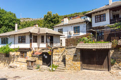 The historical part of Lovech, Bulgaria stock photo