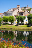 Historical part of Monforte de Lemos. Galicia, Spain Royalty Free Stock Images