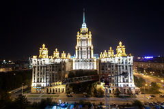 Historical part of Moscow Royalty Free Stock Photos