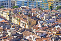 Historical part of Nice, France, Europe Stock Photo